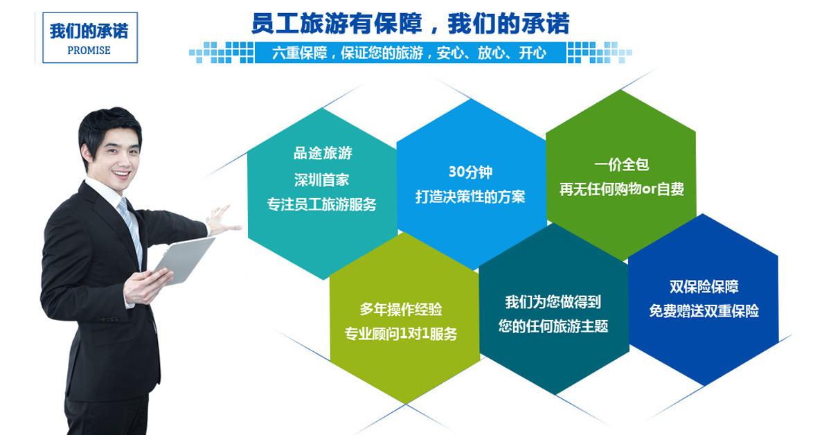 深圳品途国际旅行社,专注于企业包团旅游,拓展培训!